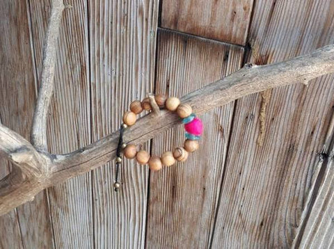 Child Essential Oil Diffuser Bracelet - Pink