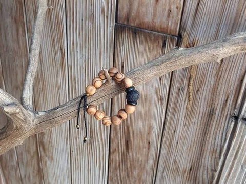 Child Essential Oil Diffuser Bracelet - Black