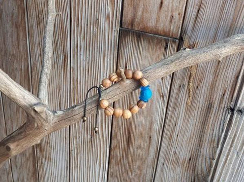 Child Essential Oil Diffuser Bracelet - Blue