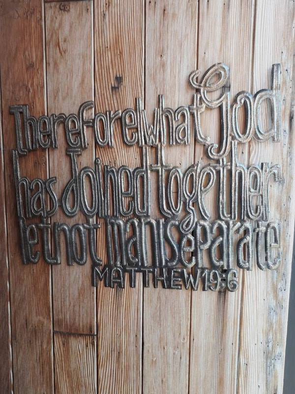 """Therefore What God Has Joined Together...."" Matthew 19:6"
