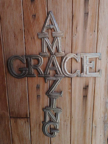 """Amazing Grace"" Cross"