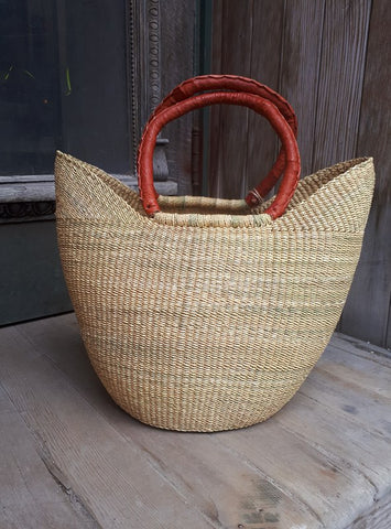 Mini U-Shopper Basket - Natural