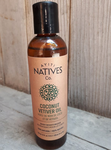 Coconut Vetiver Body Oil