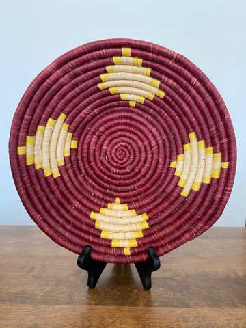 Disk Basket - Burgundy 15""