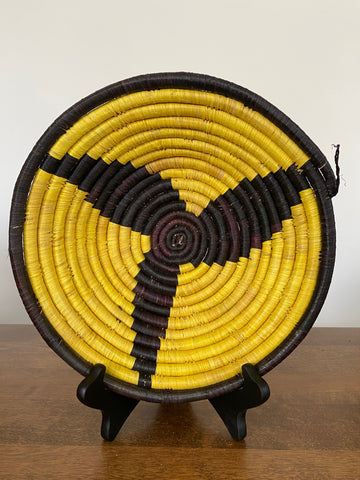 Disk Basket - Black & Yellow 10""