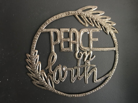 """Peace on Earth"" Wreath"