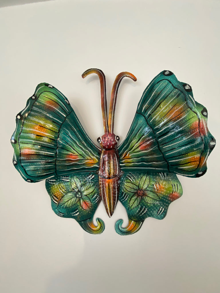 Painted Butterfly - Curly Antenna