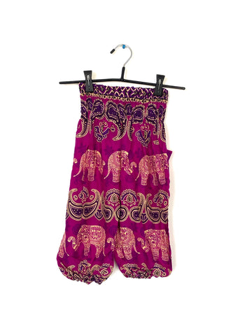 Pink With Elephants - Large