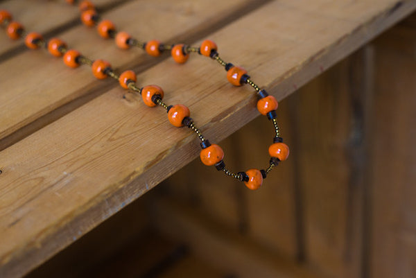 Cabaret Necklace - Orange