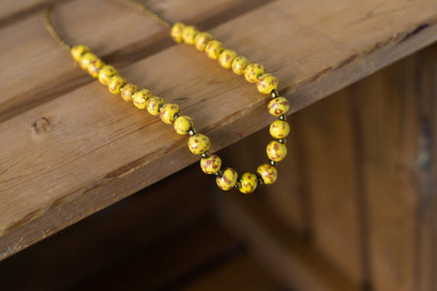 Carnival Necklace - Yellow