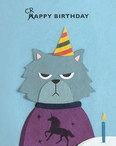Grumpy Kitty Birthday