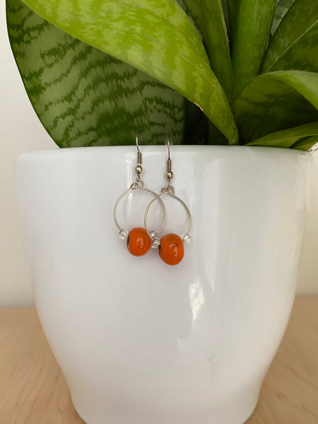 Bead Loop Earrings
