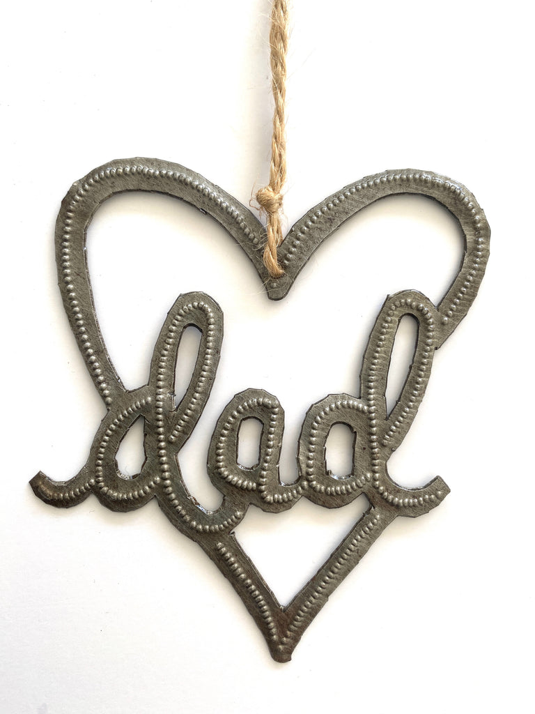 Dad Heart ornament