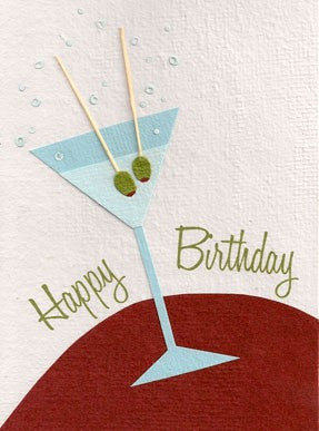 Birthday Martini