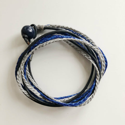 Mens Triple Wrap - Blue