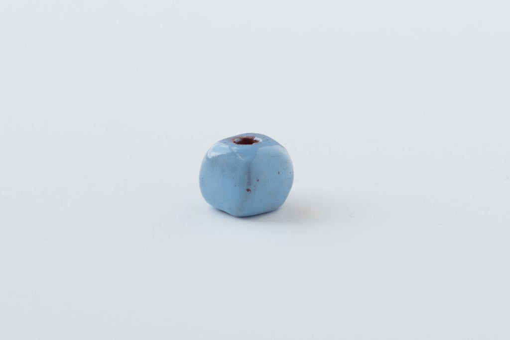 Baby Blue Square Bead