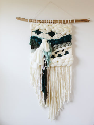 CAPE FLATTERY Weaving // Driftwood Collection