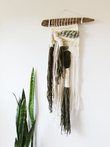 ONEONTA Weaving // Driftwood Collection