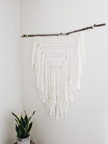 WHITE SAGE Weaving