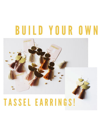 Build Your Own Tassel Earrings