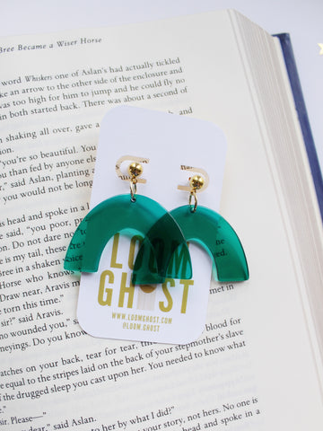 ASTORIA Earrings in Emerald