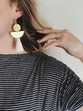 LIMBO Tassel Earrings in Cream