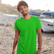 theatomstores1,Be Simple Man - Flag Green,Plain