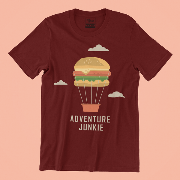 theatomstores1,Adventure Junkie - Men's Tee,Adventure
