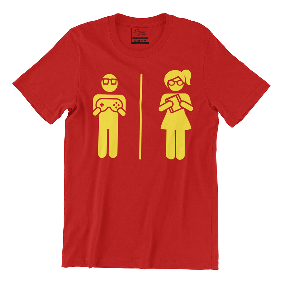 theatomstores1,Couple Nerd - Men's Tee,Couple nerd