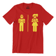 Couple Nerd - Men's Tee - The Atom Stores
