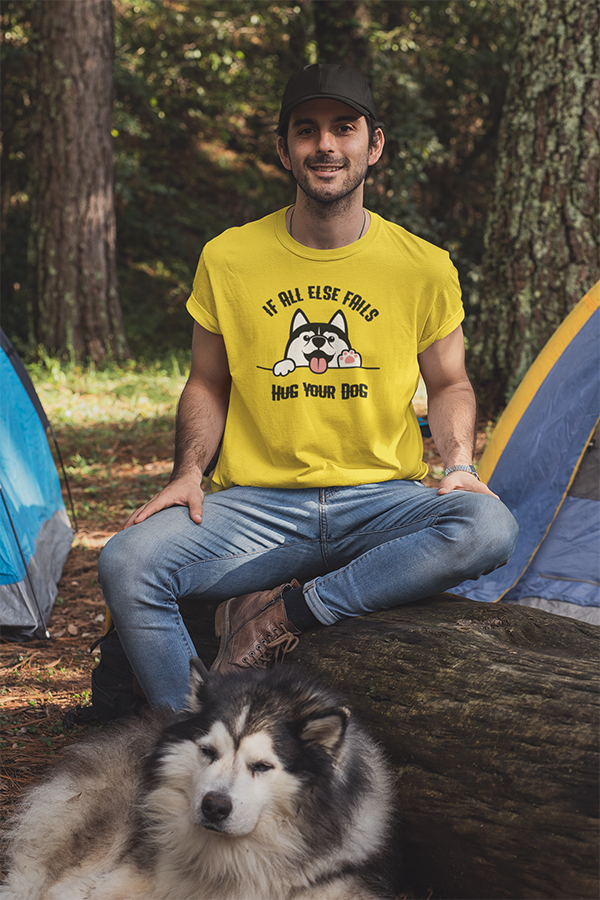 Hug Your Dog Tee for Men