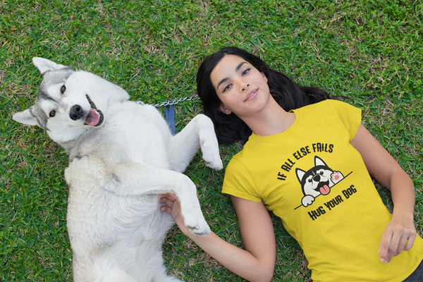 Hug Your Dog Tee for Women