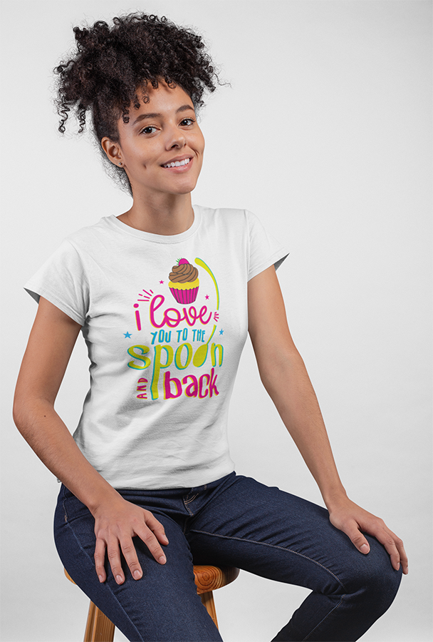 Love you to the Spoon and Back - Women's Tee
