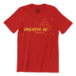 Sarcastic - Men's Tee - The Atom Stores