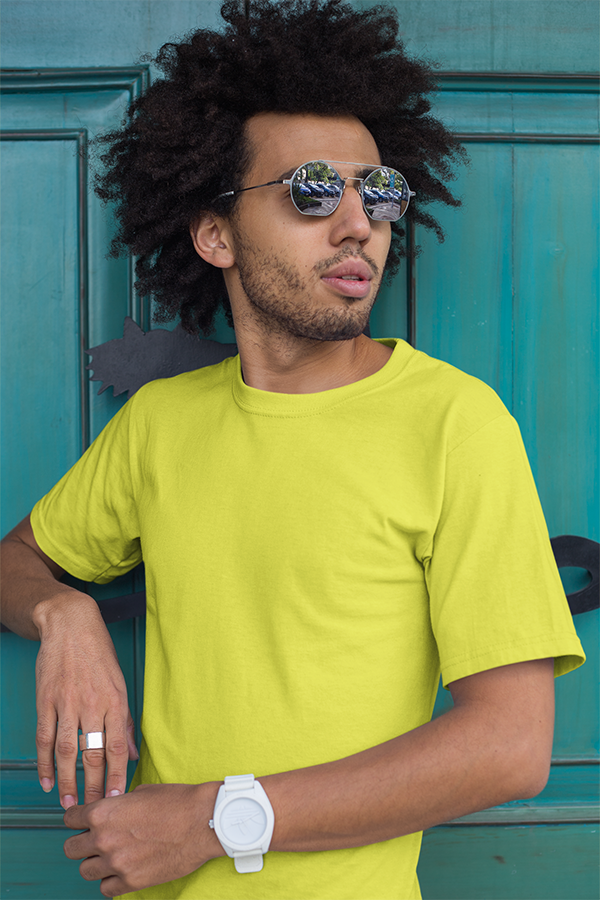 Solid Tees - New Yellow