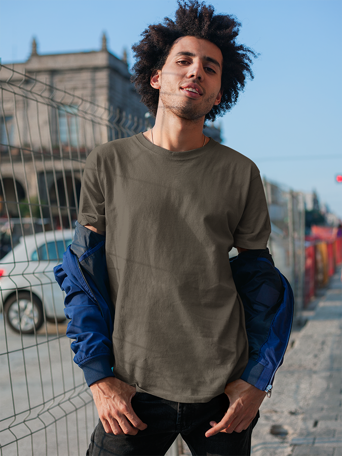 Solid Tees - Olive Green