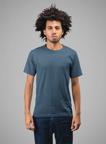 Solid Tees - Petrol Blue
