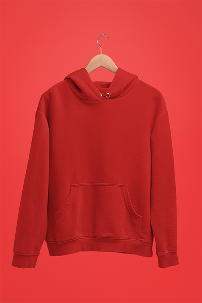 Unisex Hoodies Red - The Atom Stores