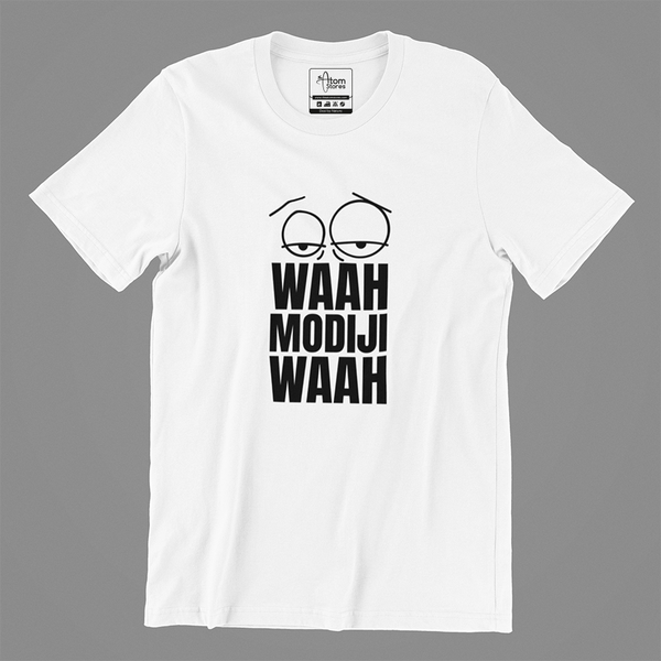 Waah Modiji Waah- Men's Tee - The Atom Stores