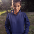 Unisex Hoodies Navy Blue - The Atom Stores