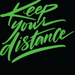 Keep Your Distance - Black