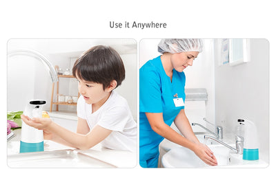 Touchless Liquid Soap & Sanitizer Dispenser