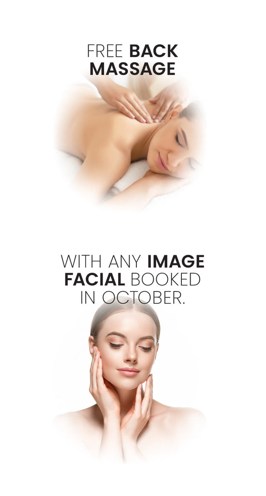 free back massage with image facial