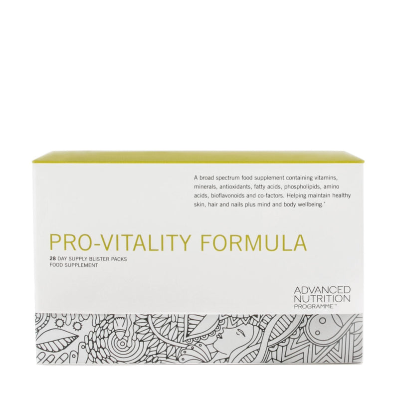 Advanced Nutrition - Pro-vitality Formula - 28day