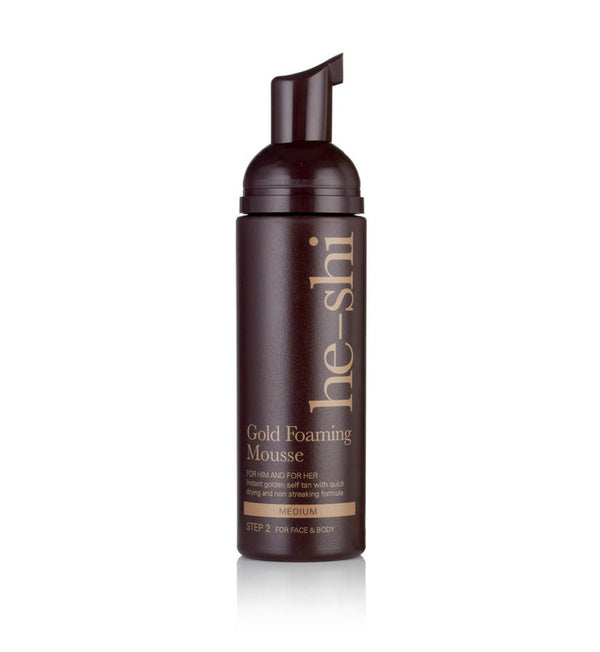 He-Shi Gold Foaming Mousse
