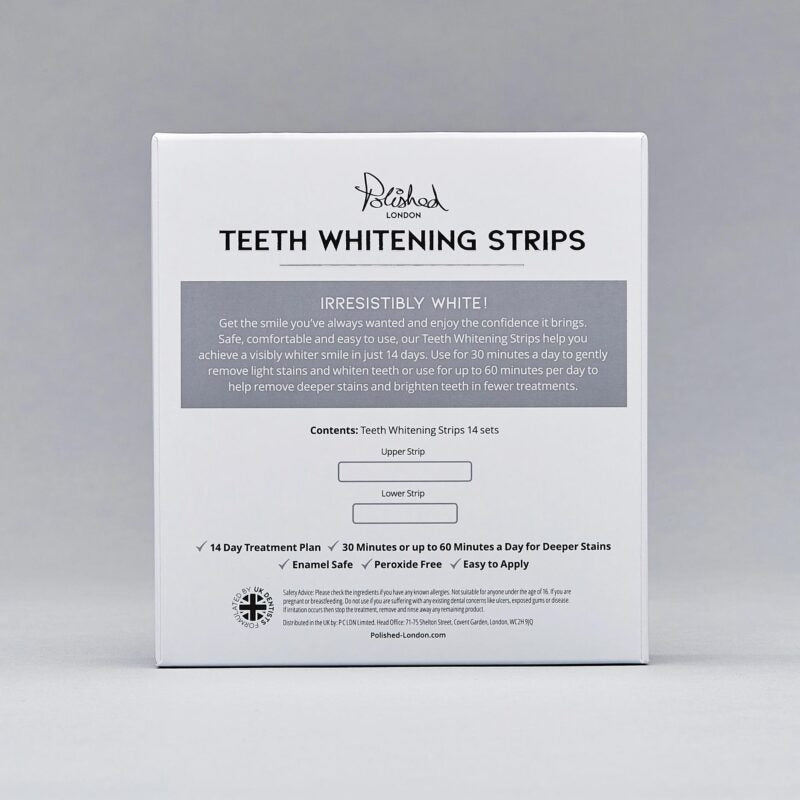Polished London - TEETH WHITENING STRIPS