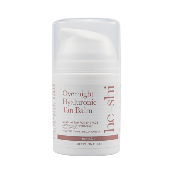 He-Shi Overnight Hyaluronic Tan Balm