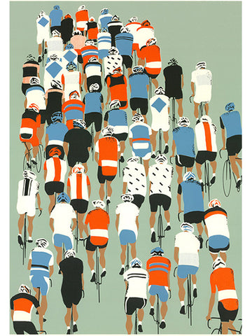 Peloton - Cycling Poster