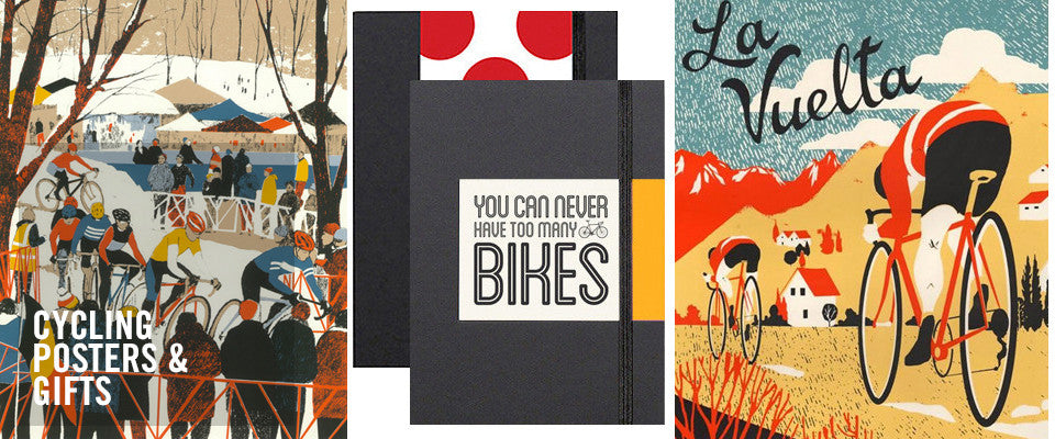 Cycling posters, coffee, mugs and lot more cycling gifts