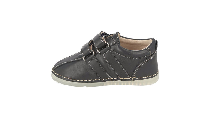 Barcelona Velcro Sneaker in Atlantic Leather